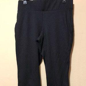 Dark grey/light grey Torrid leggings-jeggings